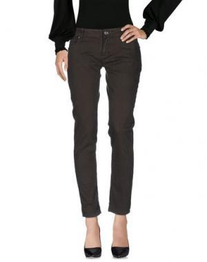 Повседневные брюки ARTIGLI. Цвет: темно-зеленый