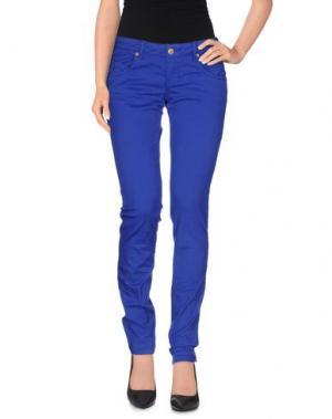 Повседневные брюки ZU+ELEMENTS. Цвет: синий