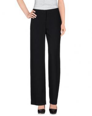 Повседневные брюки PONY. Цвет: черный