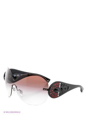 Очки солнцезащитные Emporio Armani. Цвет: темно-серый