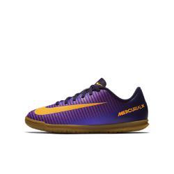Футбольные бутсы для игры в зале/на поле дошкольников/школьников  Jr. Mercurial Vortex III Nike. Цвет: пурпурный