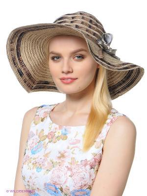 Шляпа Shapkoff. Цвет: кремовый, серый