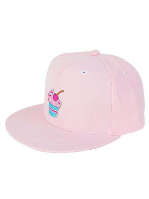 Кепка Кексик (розовая) Kawaii Factory. Цвет: розовый