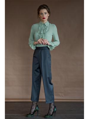 Блузка Tsurpal. Цвет: оливковый