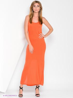 Сарафан VILATTE. Цвет: оранжевый