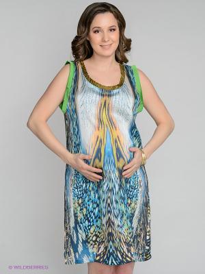 Платье Love2Wait. Цвет: синий, зеленый, молочный