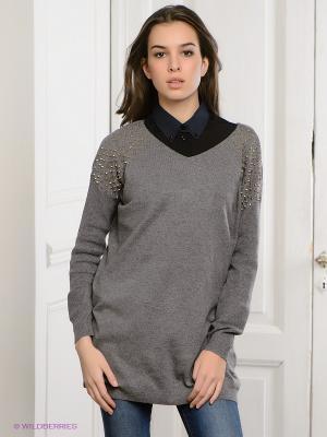 Пуловер Vero moda. Цвет: серый