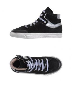 Высокие кеды и кроссовки GRANT GARÇON. Цвет: черный