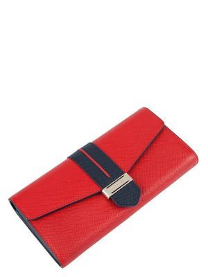 Кошелек Eleganzza. Цвет: красный, темно-синий