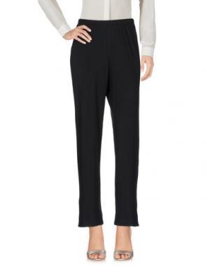 Повседневные брюки SKIN. Цвет: черный