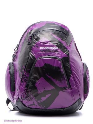 Рюкзак Grizzly. Цвет: фиолетовый, черный