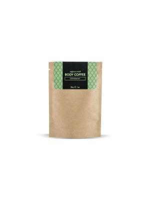 Аргановый скраб кофе Huilargan мята 30 гр. Цвет: желтый