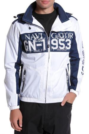 Куртка Geographical norway. Цвет: white, navy