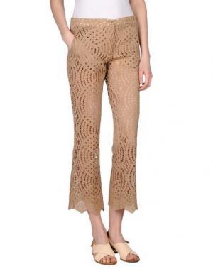 Повседневные брюки AISHHA. Цвет: хаки