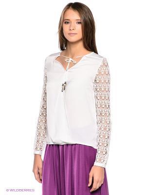Блузка Aaiko. Цвет: белый, черный