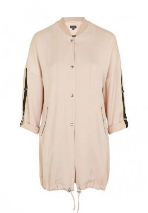 Куртка Topshop. Цвет: розовый
