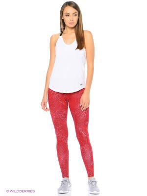 Леггинсы W NSW LEG-A-SEE LGGNG AOP Nike. Цвет: красный