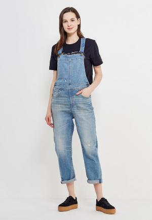 Комбинезон джинсовый G-Star. Цвет: синий
