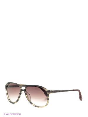Солнцезащитные очки BK 675S 04 Bikkembergs. Цвет: серый
