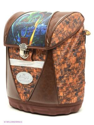 Рюкзак PROFF. Цвет: коричневый, желтый, синий, зеленый, темно-коричневый
