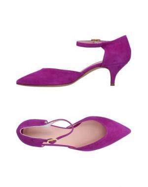 Туфли FAUZIAN JEUNESSE. Цвет: розовато-лиловый