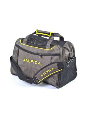 Сумка ALPICA. Цвет: зеленый, желтый