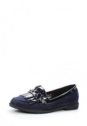 Лоферы Sweet Shoes. Цвет: синий
