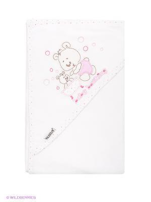 Полотенце Bebitof Baby. Цвет: молочный, розовый