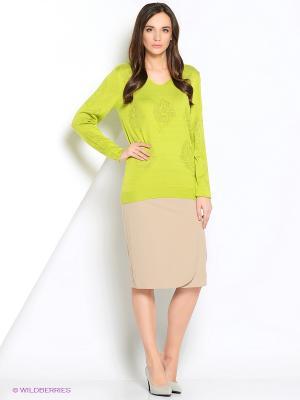 Джемпер женский Vis-a-vis. Цвет: зеленый
