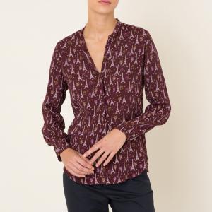 Блузка CARTA HARTFORD. Цвет: красный