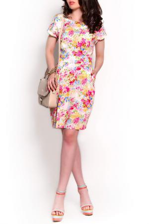 Платье MONT PELLIER. Цвет: кремовый