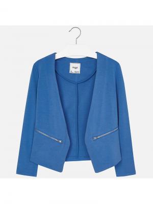 Пиджак Mayoral. Цвет: фиолетовый