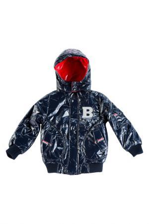 Куртка Bodi Bear. Цвет: синий