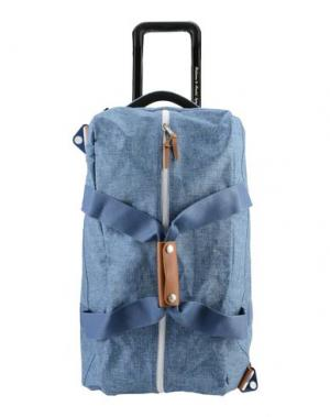 Чемодан/сумка на колесиках THE HERSCHEL SUPPLY CO. BRAND. Цвет: синий