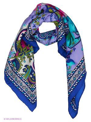 Платок Stilla s.r.l.. Цвет: синий, сиреневый