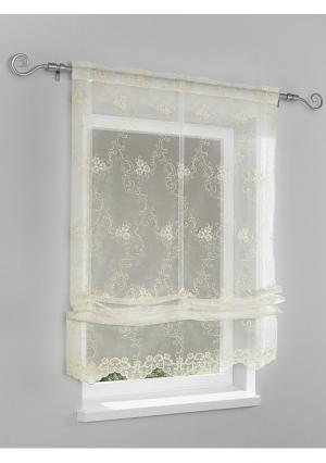 Римская штора Heine Home. Цвет: кремовый