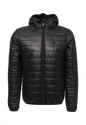 Куртка утепленная Soulstar. Цвет: черный