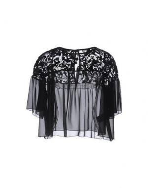 Блузка HANITA. Цвет: черный