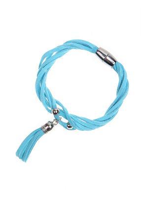 Браслет Gusachi. Цвет: голубой, серебристый