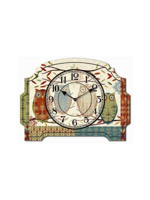Часы настольные Четыре совушки Magic Home. Цвет: белый