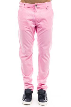 Брюки Gas. Цвет: розовый