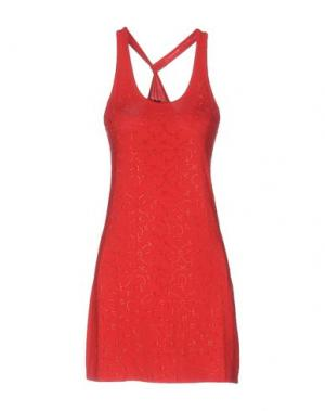 Короткое платье MET MIAMI COCKTAIL. Цвет: красный