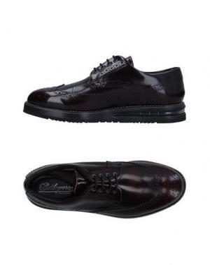 Обувь на шнурках BARLEYCORN. Цвет: баклажанный