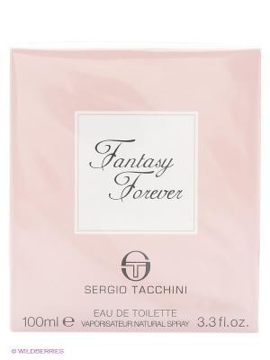 Туалетная вода FANTASY FOREVER, 100 мл SERGIO TACCHINI. Цвет: розовый