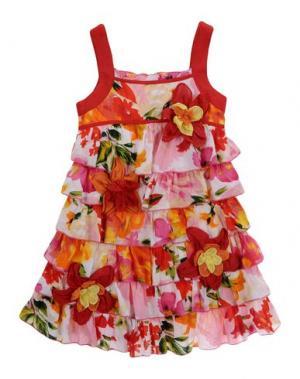 Платье BEETLEJUICE. Цвет: красный