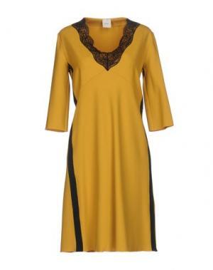 Короткое платье ...À_LA_FOIS.... Цвет: охра