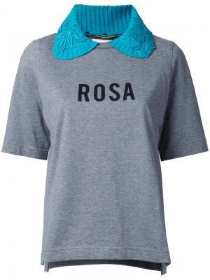 Футболка Rosa Muveil. Цвет: серый
