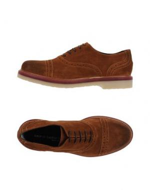 Обувь на шнурках LAURA BELLARIVA. Цвет: коричневый