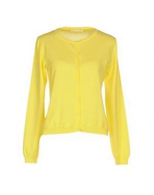 Кардиган NIOI. Цвет: желтый