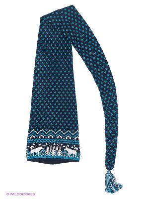 Шапка-шарф Scandica. Цвет: темно-синий, морская волна